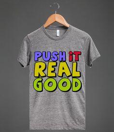 Push It #saltnpeppa #hiphop #tshirt #throwback