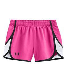 NWT Girl's Nike Jordan FlyGirl Rollover Shorts • Black//Pink