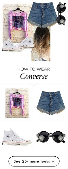 """RUN DMC"" by tahzzz on Polyvore featuring Converse and rag & bone"