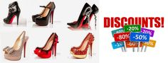 Now buy your stylish ‪#‎RedBottomShoes‬ with a discount prices.