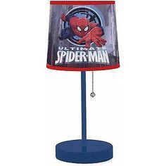 Spiderman Stick Lamp Children Table Shade Decorative Kids Lighting Bedroom New