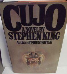 #StephenKing Cujo Hardcover Book 1981 #Book Club Edition