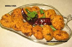 Indian Recipes - Masala Vada