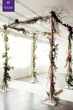 Loving this #wedding structure - see more at http://www.artofimagination.com/1520Leigh