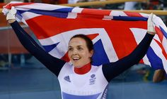 Victoria Pendleton Keirin Track Cycling Gold