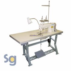 JUKI DDL-8700 Industrial Sewing Machine with Servo Motor, Stand and Setup DVD #Juki