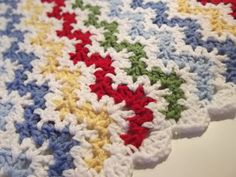 Vintage Ripple Baby Afghan - follow link to pattern ($5.00)