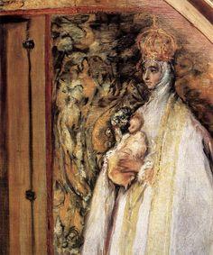 El Greco - St Ildefonso (detail)