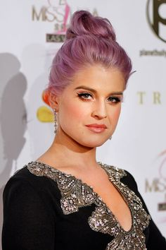 TOP KNOT Hairstyle | Kelly Osbourne