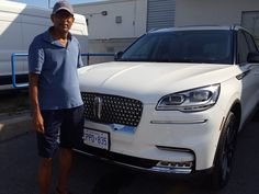 Krishna picking up his #2020 #Lincoln #Aviator #202A #AWD He enjoyed buying this #Luxury #SUV from #SamT, Sr Product Specialist from East Court Ford Lincoln ! Learning features of a luxury vehicle clouds your vehicle buying decision, we made it simple at East Court! Call Sam at 417-292-1171 and know more. Luxury Vehicle, Luxury Suv, Call Sam, Lincoln Aviator, Drive A, Driving Test, 2 In, Krishna, Aviation