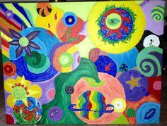 """In your Head"" - By Nici Thomas - Medium : Acrylic"
