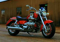 Super charged Honda Valkyrie.  1,520 cubic centimeters, liquid cooled, horizontally-opposed flat-six engine.