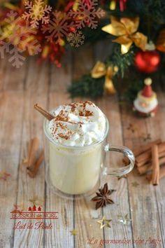 Boisson de Noël - Lait de poule | Christmas drink - eggnog http://www.la-gourmandise-selon-angie.com/archives/2013/12/01/28558251.html