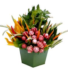 Image result for images of vegetable party bouquets