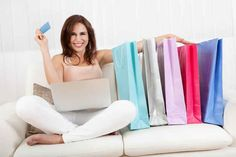 How Women Shop, According To Stock Photos