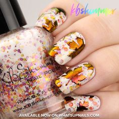 Fall Stencils for Nails, Autumn Fall Thanksgiving Nail Stickers, Nail Art, Nail Vinyls Autumn Nails, Winter Nails, Fall Nail Art Autumn, Easy Nail Art, Cool Nail Art, Great Nails, Fun Nails, Bling Nails, Ongles Beiges