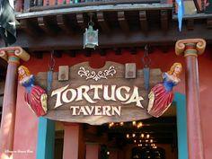 Tortuga Tavern, Disney World. So yummy! I WILL eat here next time!