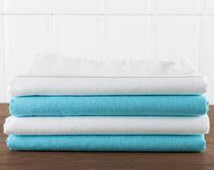 Sale 30 Cotton Turkish Towel Set of 4 Blue by LongestThreadBasic, $56.00 Bath Towels, Tea Towels, Turkish Towels, Table Covers, Towel Set, Shops, Etsy Shop, Blanket, Cotton