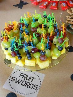 Fruit swords