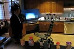 """Microsoft has demonstrated an early prototype of a Kinect-powered shopping cart, which is being developed for Whole Foods by Texas-based company Chaotic Moon. The project is called the """"Smarter Cart"""" and it uses a tablet and scanners to read the items you place inside, check whether..."""