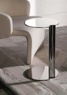 jonathan adler hans pedestal side table details. Black Bedroom Furniture Sets. Home Design Ideas