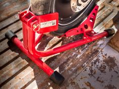 Baxley Motorcycle Wheel Chock | Local Motors