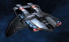 Federation Attack Fighter(Star Trek)