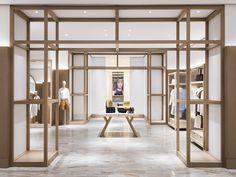 25 Best Interior Design Projects By Yabu Pushelberg Retail Store Design, Retail Shop, Retail Interior, Interior Exterior, Commercial Design, Commercial Interiors, Design Comercial, Store Concept, Architecture Restaurant
