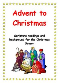 This product is a set of scripture readings that are relevant for the Christmas season. They focus on the following themes and have accompanying background notes: Advent and Christmas: • Journeying • Preparation and Celebration • Waiting and Hoping • Longing and Fulfilment • Responding with Love