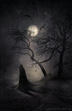 Art by Raven Dark #Deviantart - Nocturnal Whisperings -