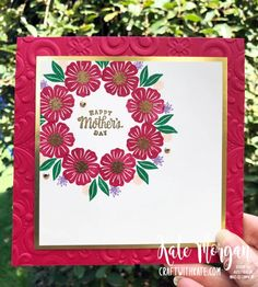 Mother's Day Creative Showcase – Kate Morgan, Independent Stampin Up!® Demonstrator Rowville, Victoria, Australia