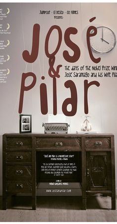 """Directed by Miguel Gonçalves Mendes.  With Joao Afonso, Àngels Barceló, Pilar del Río, Juan Echanove. """"José and Pilar,"""" a documentary by Miguel Gonçalves Mendes, is a deeply moving story about love, loss and literature. It follows the days of José Saramago, the Nobel-laureate Portuguese novelist, and his wife, Pilar del Rio. The film shows their whirlwind life of international travel, his passion for completing his masterpiece, """"The Elephant's Journey"""" and how their love quietly sustains…"""
