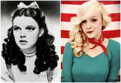 30 Retro Hair + Makeup Tutorials Inspired by Old Hollywood via Brit + Co.