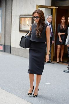 Victoria Beckham Power Outfits