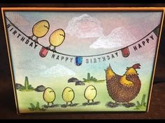Stampin' up Hey Chick and Any Occasion card #2