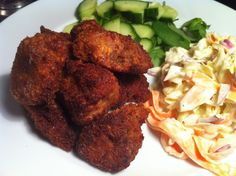 Southern Fried Rabbit Nuggets