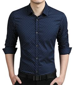 APTRO Men's Long Sleeve Slim Fit Printing Fine Letters Printing Dress Shirt Dark Blue XS( Tag L ) APTRO http://www.amazon.co.uk/dp/B01560ORF2/ref=cm_sw_r_pi_dp_b0oywb0Y8R7EJ