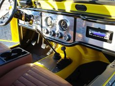 custom jeep cj dashes | Introducing MONSTALINER™ UV Permanent DIY Roll On Bed Line