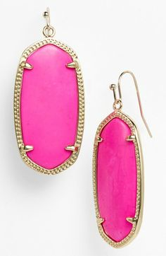 Kendra Scott 'Elle' Small Oval Earrings available at #Nordstrom