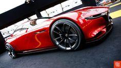 "The Mazda RX-Vision showcased at the Festival Automobile International at Les Invalides via Okutan""102More cars here."