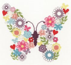 Butterfly Bouquet - Bothy Threads *NEW*