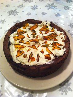 Fiona's chocolate and mint caramel cake - recipe Gordon Ramsey