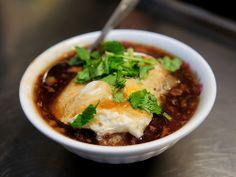 egg over pan-fried kueh (kuih) in sauce. Tainan #Taiwanese food  台南 煎粿