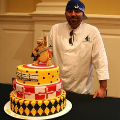 Cake Boss UMD Cake.. pinning this for jordan cause i know he'd love it