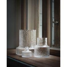 "NM ""Kolonn vases by Carina Seth Andersson produced by Skruf. Photo by P… NM ""Les vases Kolonn de Carina Seth … Home Decor Baskets, Basket Decoration, Home Decoration, Decorations, Interior Design Tips, Interior And Exterior, Interior Styling, Design Ideas, Home Decor Accessories"
