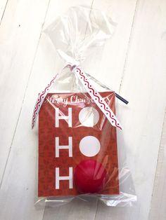 DIY Lip Balm Card Holders Christmas Gifts Santa Rudolf by Vikster