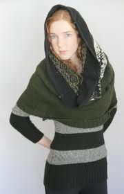 upcycled sweater poncho - Google Search