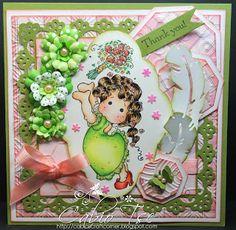 Cabio's Craft Corner: Catch Tilda Thank You Card