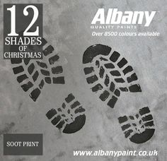Soot Print from Albany Paint.  www.albanypaint.co.uk