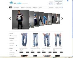 Online-Shop Meinoutlet.com by r. voss internet service | #ecommerce #onlineshop